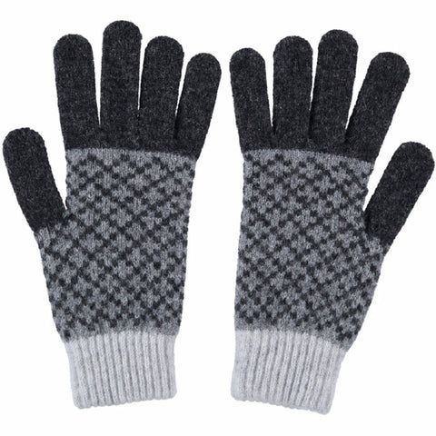 grey ladies gloves