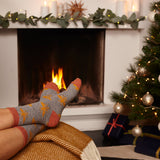 Ladies Ginger Bee Lambswool Ankle Socks