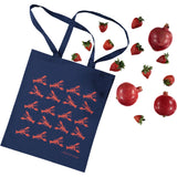 Lovely Lobsters Cotton Tote Bag