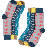Marine Collection - Men's Cotton Ankle Sock 3 Pack - SAVE 20%