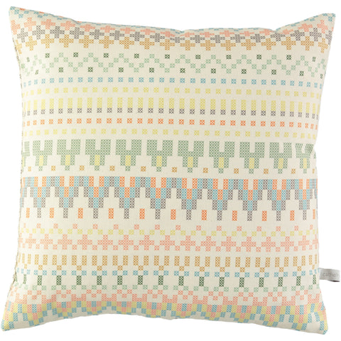 Cross Stitch Print Cushion