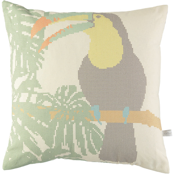Cross Stitch Toucan Cushion
