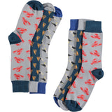 The Seaside Collection - Men's Cotton Ankle Sock 3 Pack - SAVE 20%