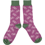 Men's Plum Bikes Cotton Ankle Socks