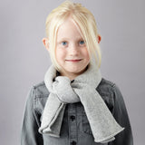 Grey Sparkle Lambswool Scarf