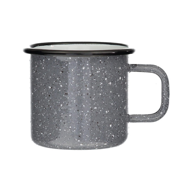 Speckled Grey Enamel Mug