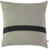 grey honeycomb cushion