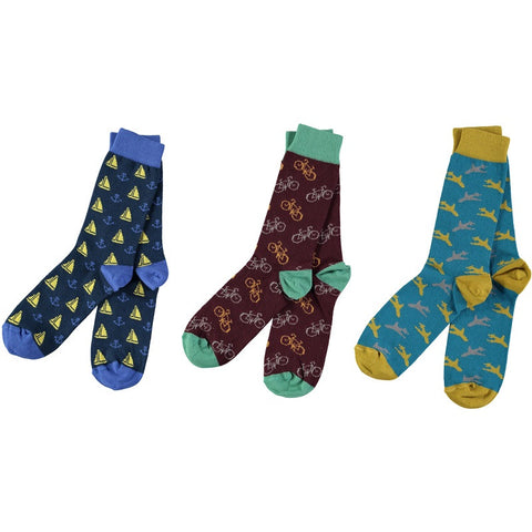 The Hobbyist Bundle - Men's Cotton Ankle Sock Pack - SAVE 20%