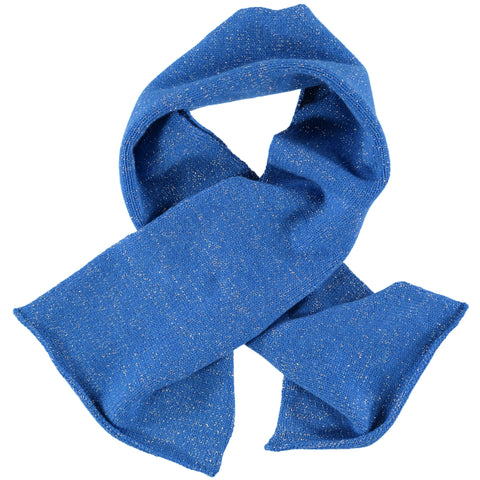 blue sparkle scarf