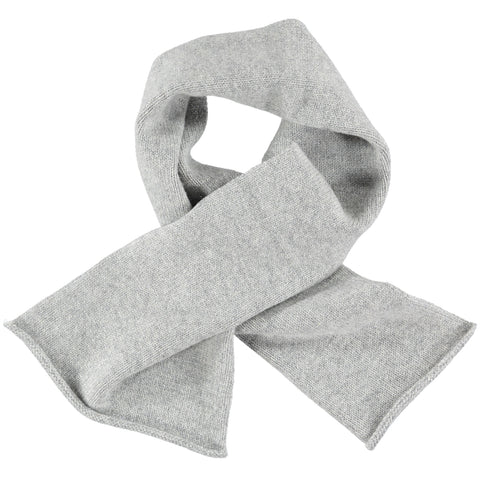 grey lambswool sparkle scarf