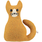 ginger knitted cat
