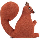 knitted lavender squirrel
