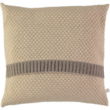 oat honeycomb lambswool cushion