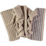 oat textured knit lambswool throw