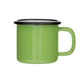 MINI Bright Green Enamel Mug
