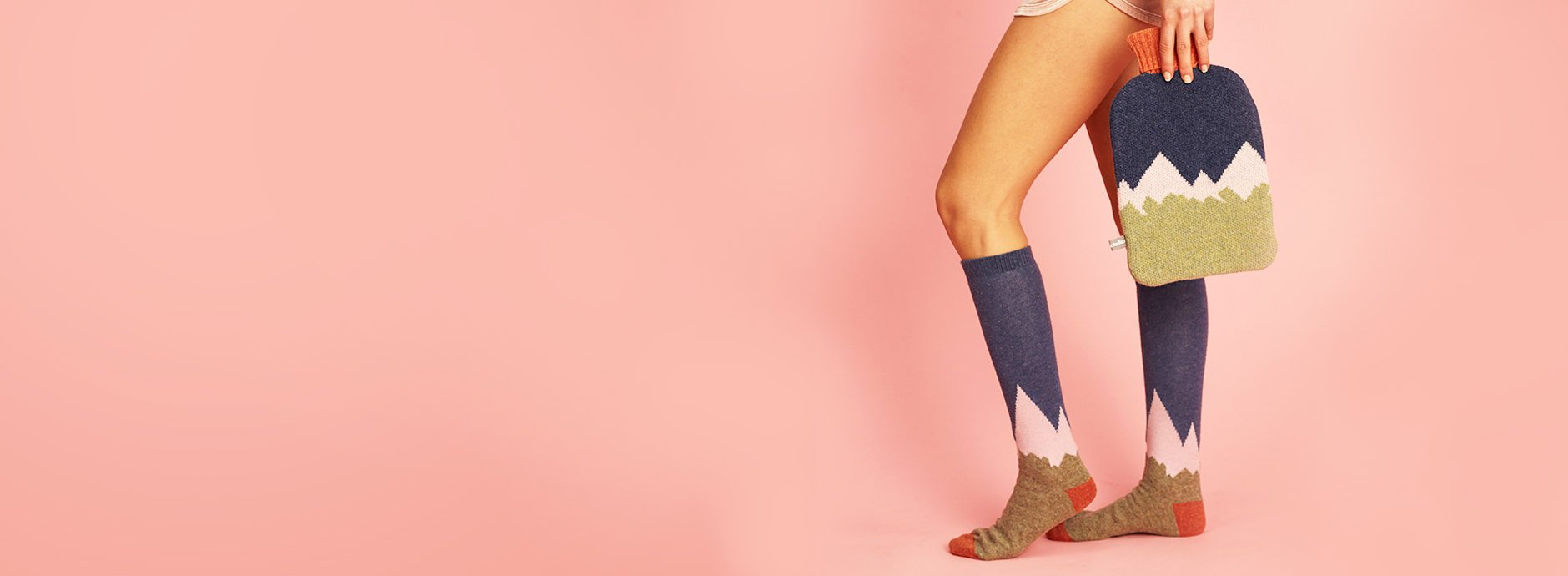 Festival socks by Catherine Tough - also good for camping