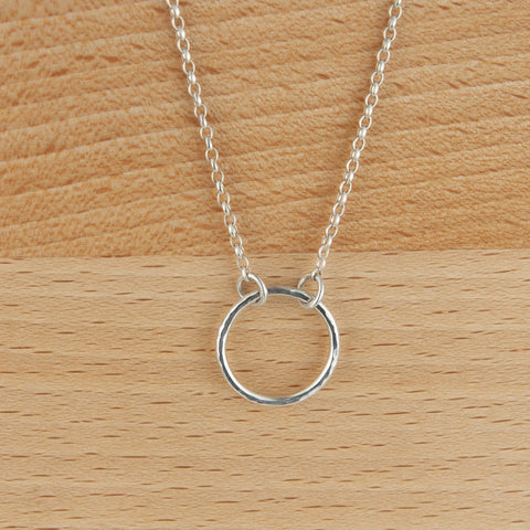 Karma Necklace Sterling Silver