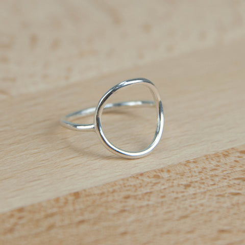 sterling silver Skinny Karma ring