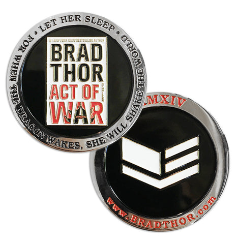LIMITED EDITION Act of War Challenge Coin