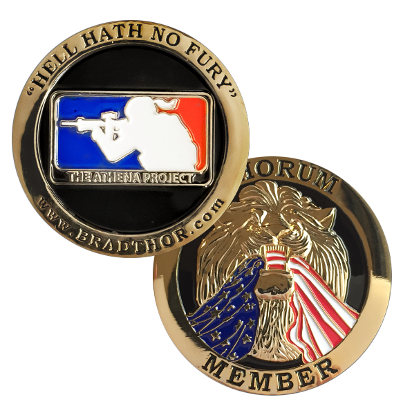 LIMITED EDITION The Athena Project Challenge Coin