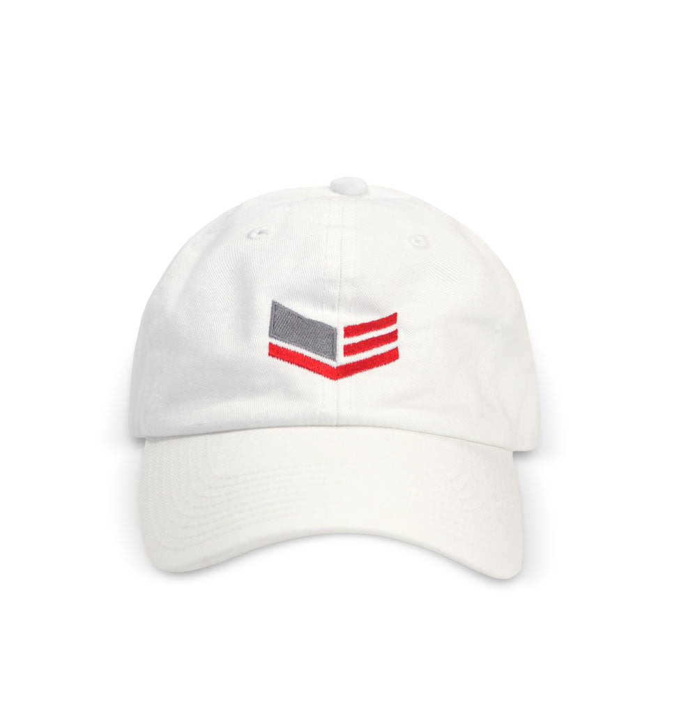 White Cap With Logo
