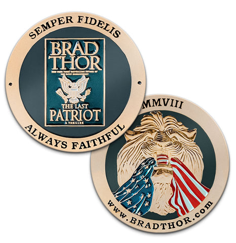 LIMITED EDITION The Last Patriot Challenge Coin