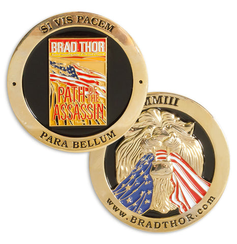 LIMITED EDITION Path of the Assassin Challenge Coin