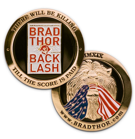 LIMITED EDITION BACKLASH Challenge Coin