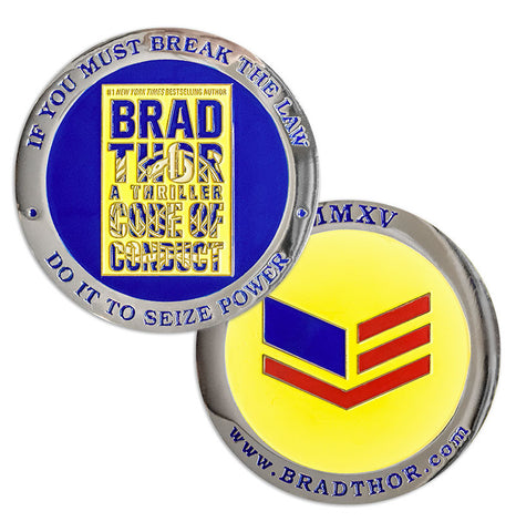 LIMITED EDITION Code Of Conduct Challenge Coin