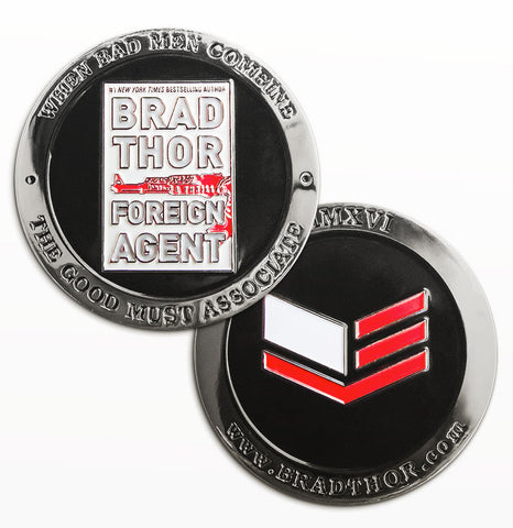 LIMITED EDITION Foreign Agent Challenge Coin