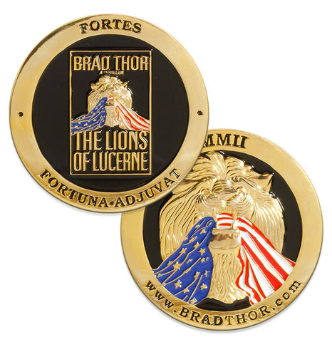 LIMITED EDITION The Lions of Lucerne Challenge Coin