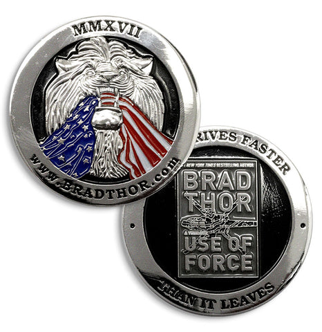 LIMITED EDITION Use of Force Challenge Coin