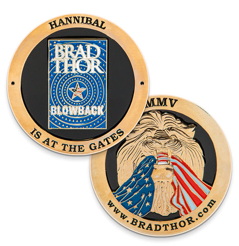 LIMITED EDITION Blowback Challenge Coin