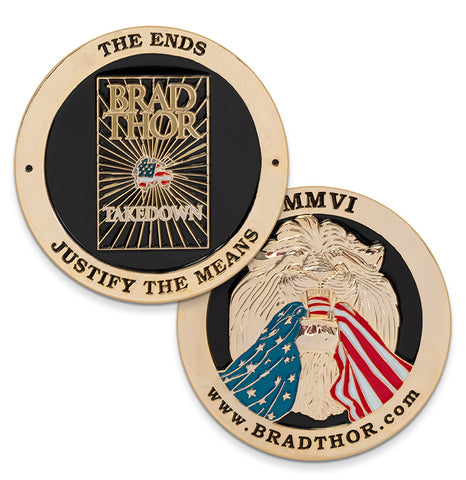 LIMITED EDITION Takedown Challenge Coin