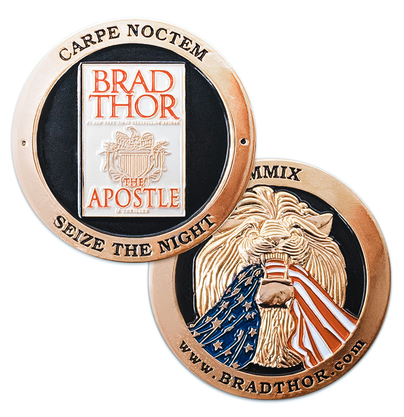 LIMITED EDITION The Apostle Challenge Coin