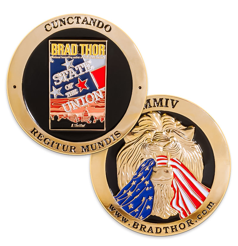 LIMITED EDITION State of the Union Challenge Coin