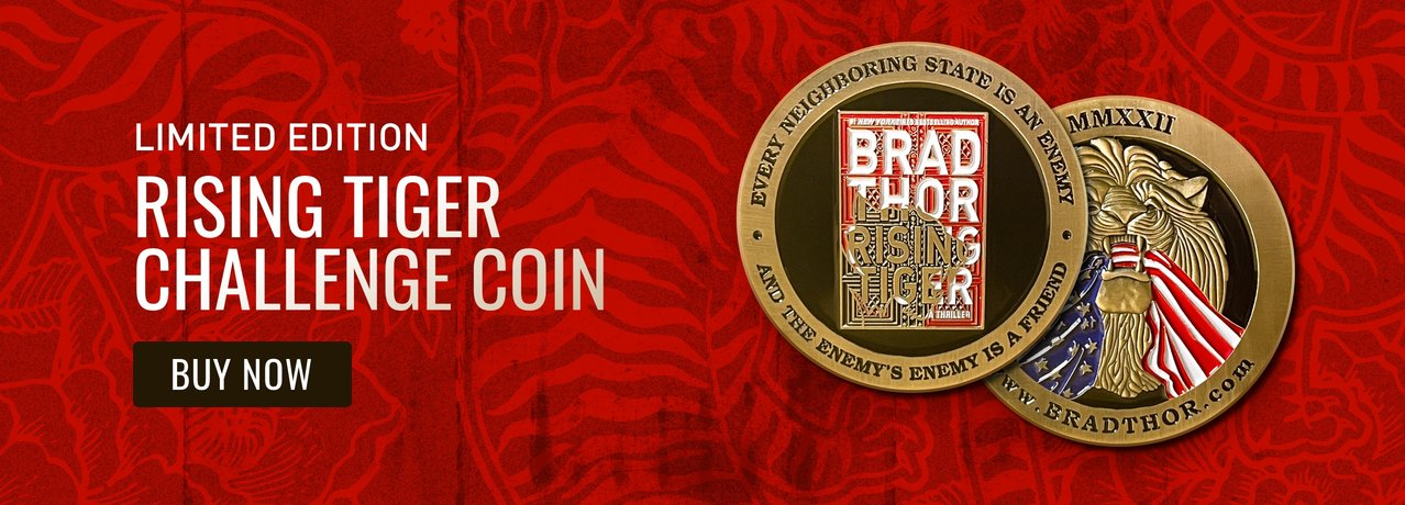 Brad Thor Challenge Coins