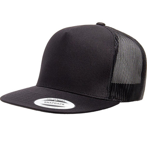 5 PANEL CLASSIC TRUCKER BLACK