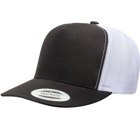 5 PANEL CLASSICTRUCKER 2-TONE BLACK/WHITE