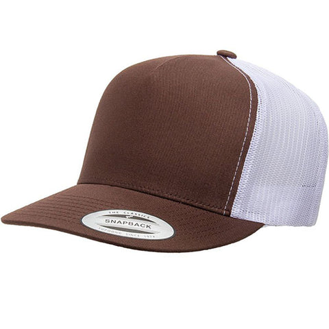 5 PANEL CLASSICTRUCKER 2-TONE BROWN/WHITE