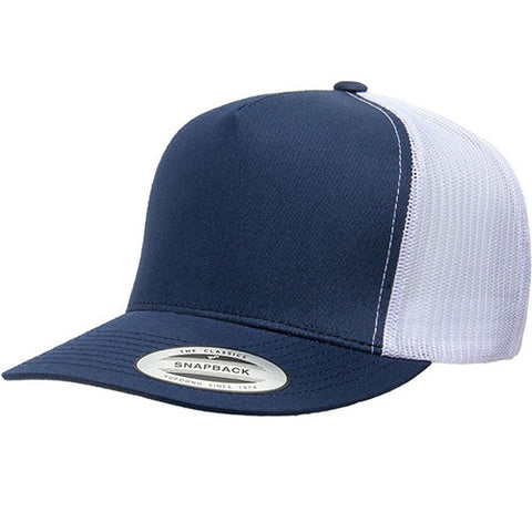5 PANEL CLASSICTRUCKER 2-TONE NAVY/WHITE