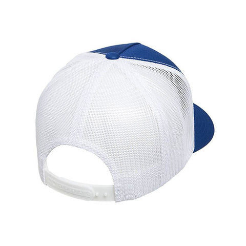 5 PANEL CLASSICTRUCKER 2-TONE ROYAL/WHITE