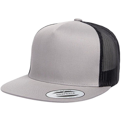 5 PANEL CLASSICTRUCKER 2-TONE SILVER/BLACK