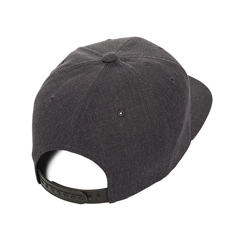 Yupoong The Classic Snapback Dark Heather