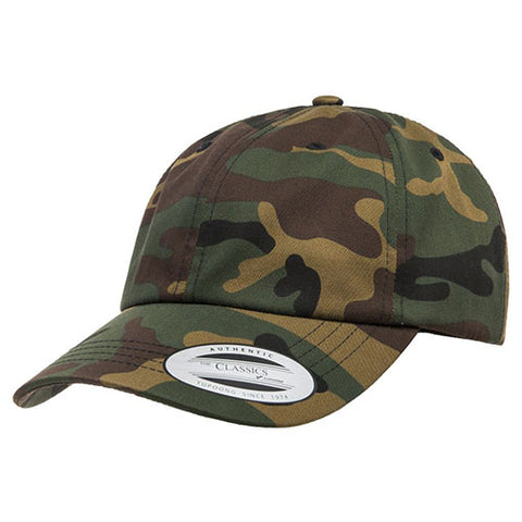 UNSTRUCTURED LOW PROFILE COTTON TWILL DAD HAT CAMO