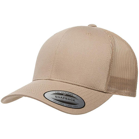 6 PANEL RETRO TRUCKER KHAKI