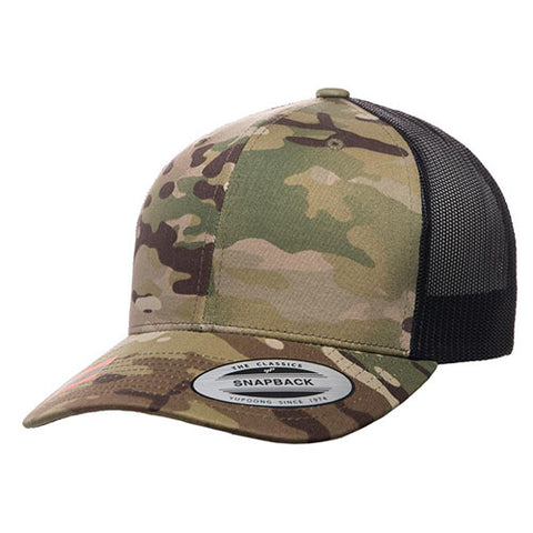 6 PANEL RETRO TUCKER MULTICAM