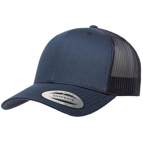 6 PANEL RETRO TRUCKER NAVY