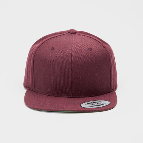 Yupoong The Classic Snapback Maroon