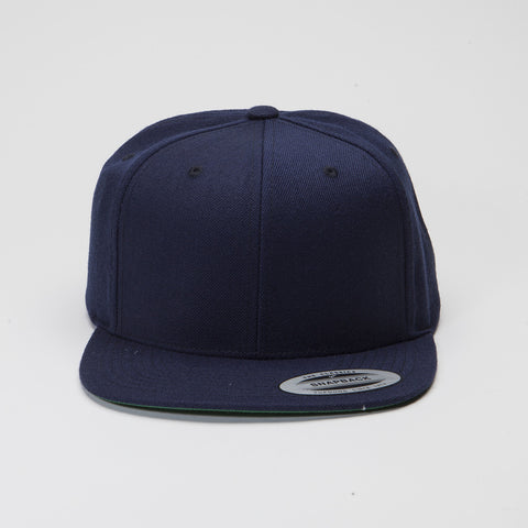 Yupoong The Classic Snapback Dark Navy